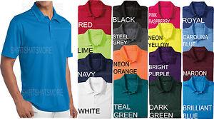Mens moisture wicking performance dri fit polo shirt golf for Maroon dri fit polo shirt