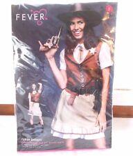 New Fever Sheriff Women's Halloween Costume Sz Small 6 - 8