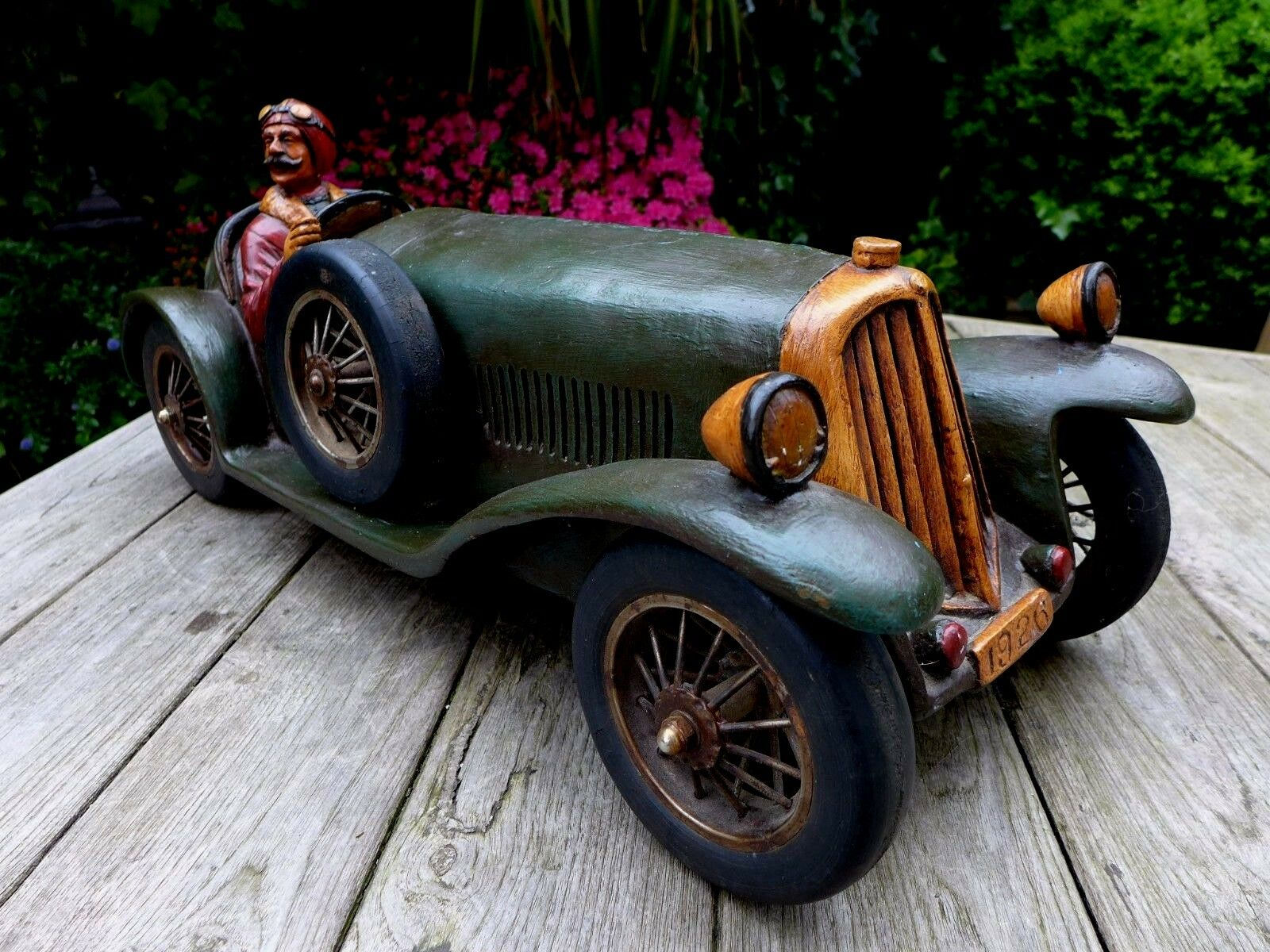 vendita di offerte Antico modellololo della della della vettura Bugatti 1926 perfetto per pub negozio Playroom UNICO RARO  incentivi promozionali