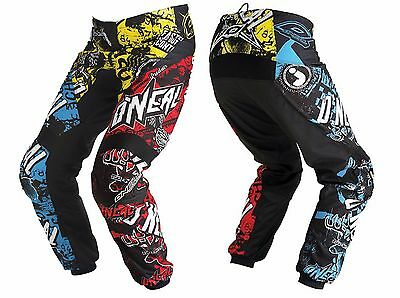 "O/'Neal Mayhem CRANK MTB Pants Multi-Color 30/"" 0123C-130"