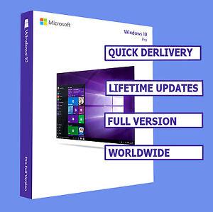 windows 10 pro oem original activation license keys 32 64bit product key ebay. Black Bedroom Furniture Sets. Home Design Ideas