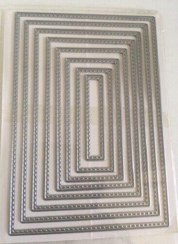 8 pcs Frame Metal Cutting Dies Stencils for DIY Scrapbooking photo album Decor
