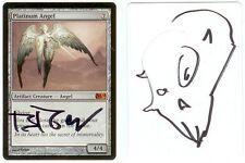 Magic MTG SIGNED Artist Proof _ Brom _ M10 SET _ PLATINUM ANGEL _ 1/10 Sketch!