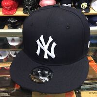 Era York Yankees Snapback Hat Cap All Navy/white/(green) Bottom 9fifty