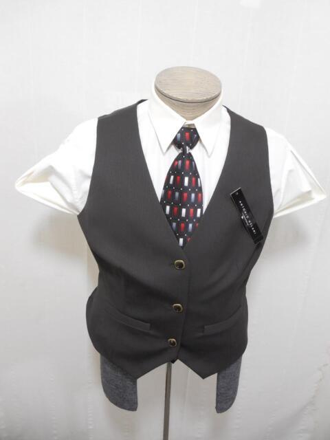 Antonio Melani Women S Dress Suit Vest 10 Woven Stripe Black Brown