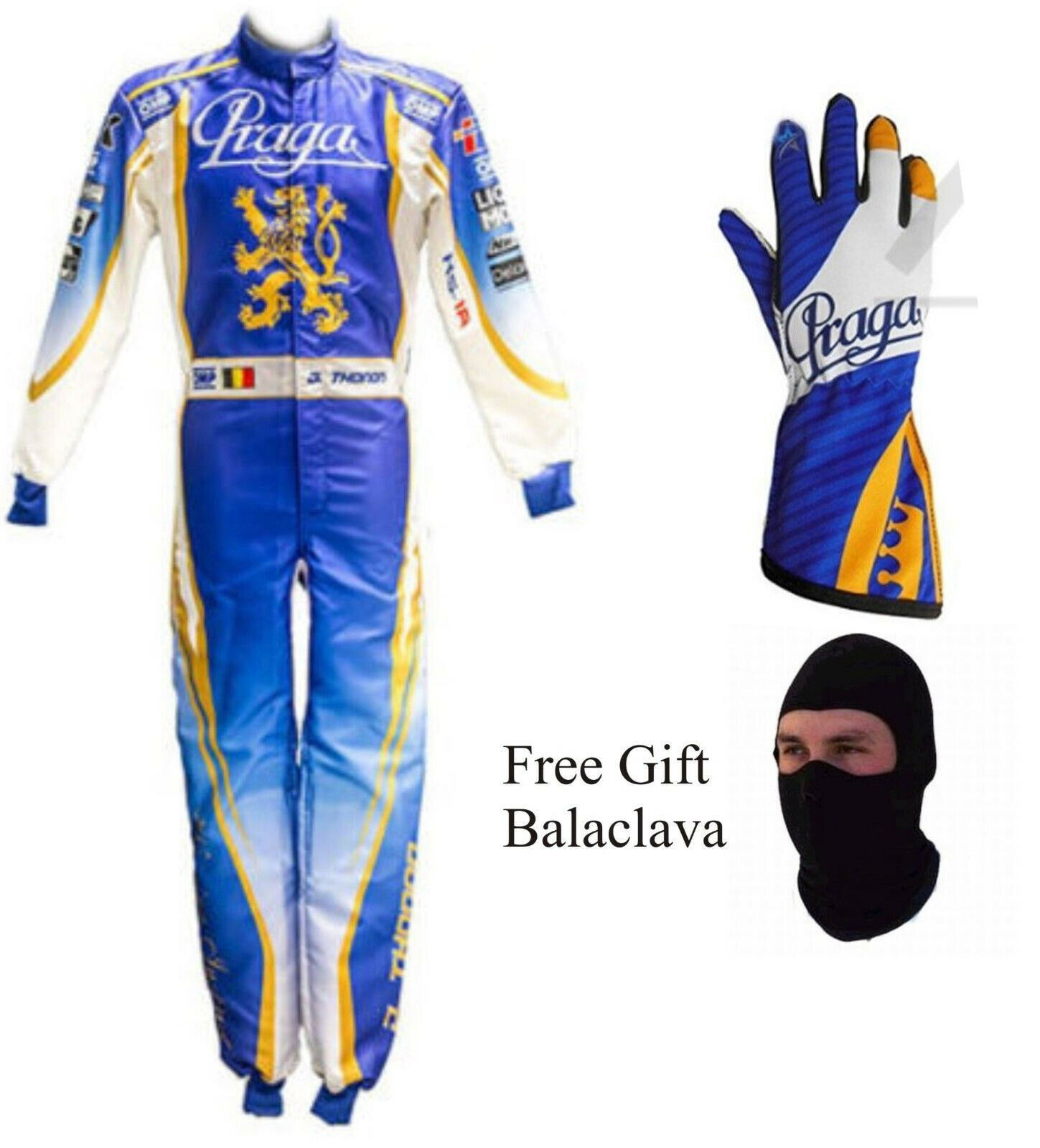 Kart  racing suit go karting Praga style kart suit by FR1 With g s-ALL SIZES  enjoying your shopping