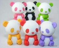 Iwako Zoo Animals - New  Colour Panda Japanese Kawaii Puzzle Eraser