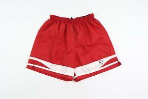 Vintage-Nike-Uomo-Grande-Travis-Scott-Piccolo-Swoosh-Logo-Corsa-Calcio-Corti-Red