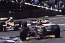 9x6 Photograph Pierre-Henri Raphanel , Larrousse-Lola LC88 , Australian GP 1988