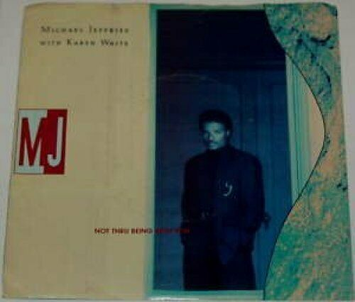 """Michael Jeffries Not thru being with you (US, 4 versions, 1989, wit.. [Maxi 12""""]"""