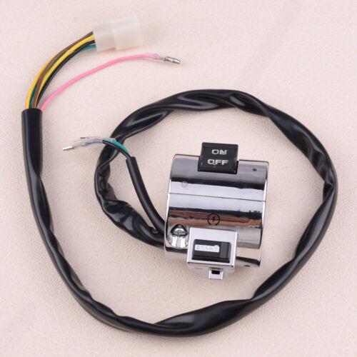 Handlebar Chrome Control Switch 25mm for Retro Roller 50/&125cc BENZHOU YIYING