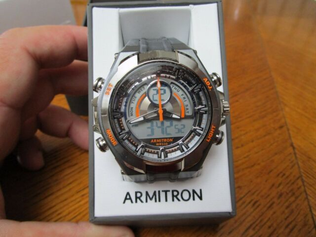 6251671ae998 New ARMITRON MEN'S 20/4589ORGY ANALOG DIGITAL MENS WATCH WITH ORIGINAL BOX