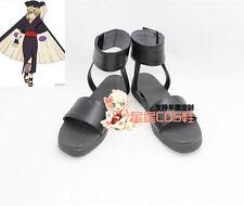 NARUTO Hyuga Hinata Temari Black Ninja Cosplay Shoes Boots X002