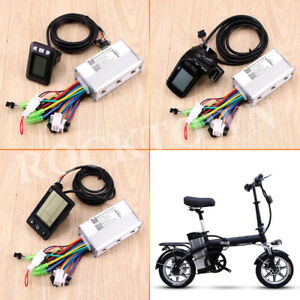 48V 36V 17A KT E-bike Controller For 250W 350W Brushless Motor Electric Bicycle