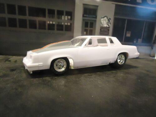 Revell 1//25 83 Cutlas Hurst Olds Resin Cast Pro Street Chassis
