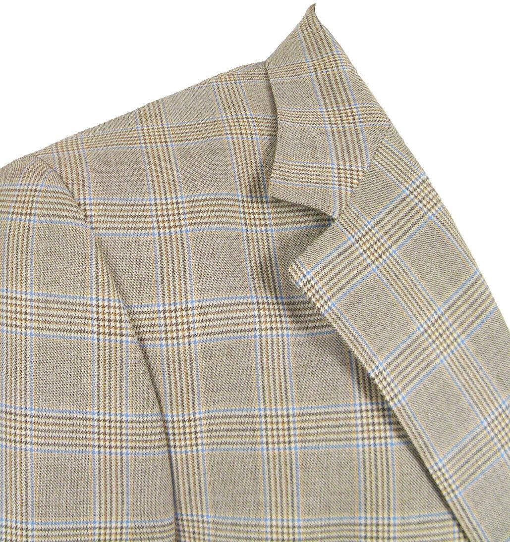NEW Paul Smith Sportcoat (Blazer)   46 Long   Prince of Wales Plaid   ITALY