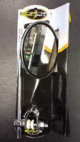 Sunlite Heavy Duty Round Handlebar Mirror-moped Style-4diameter-chrome