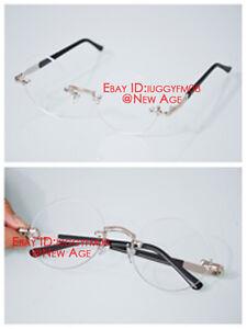 210440b972 Black Butler Mey Rin   Dangan Ronpa Touko Lens Glasses No Frame ...