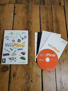 Wii-Play-Nintendo-Wii-Game-with-Instructions-Tested-and-Working