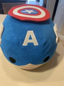 Cool Details About Authentic Us Disney Store Marvel Captain America Medium 11 Tsum Tsum Plush Pdpeps Interior Chair Design Pdpepsorg