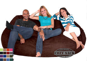 Bean-Bag-Chairs-Factory-Direct-Cozy-Sack-Suede-7-5-039-Foam-Filled-Comfort