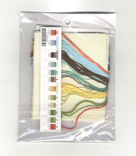Counted Cross Stitch Mini Kit ~ Dimenisons Mom/'s Rules Patchwork Home #70-65191