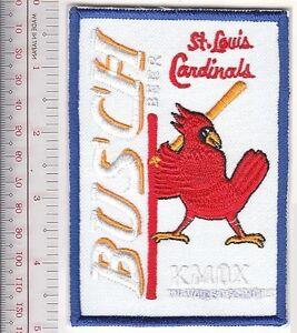 Beer Baseball St Louis Cardinals & Anheuser-Busch Beer National League Promo whi