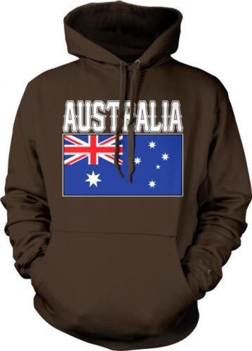 Australia Text Flag Aussie Australiain Pride Commonwealth Star Hoodie Pullover