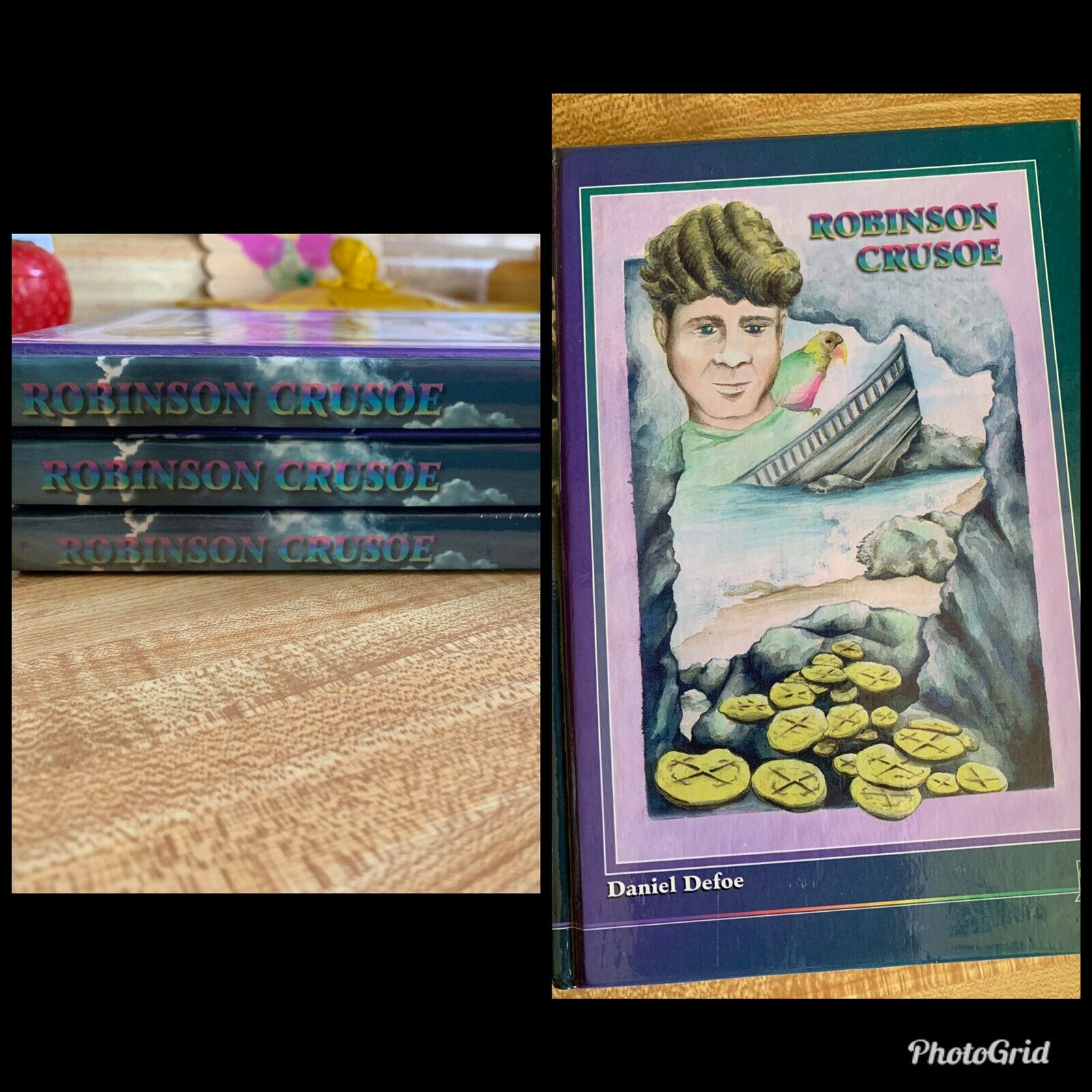 Accelerated Christian Education ACE robinson Crusoe Reading Book 5