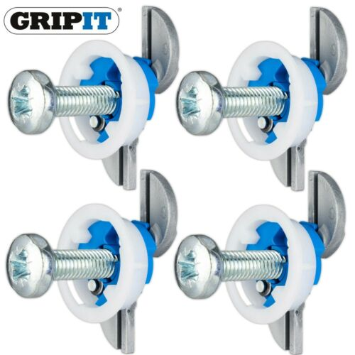 4 Gripit® BLUE 25mm PLASTERBOARD FIXINGS Heavy Duty Install//Mount Heating Boiler