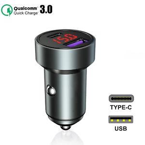 Voiture Chargeur USB-C Voiture Chargeur Adaptateur TypC pour Samsung Galaxy s21 Ultra