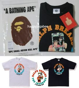 S-2XL-A-BATHING-APE-Men-039-s-BAPE-x-Ralph-Breaks-the-Internet-TEE-1-2colors-New