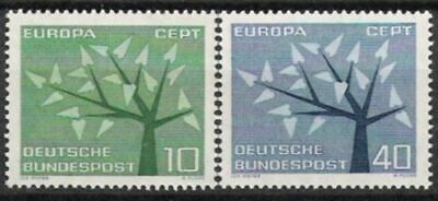 Bund Nr.383/84 ** Europa, Cept 1962, Postfrisch Bereitstellung Von Annehmlichkeiten FüR Die Menschen; Das Leben FüR Die BevöLkerung Einfacher Machen