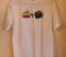 Apple Computer Logo NeXT Computer Logo Merge T-shirt - XL