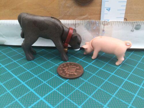 Piglet /& Calf 5555 Playmobil Baby Cow /& Pig Zoo// Farm Wildlife Animal