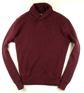 Ralph-Lauren-Sweat-Bordaeux-Gr-L