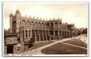 Picture-Postcard-Windsor-Castle-St-George-039-s-Chapel-Berkshire