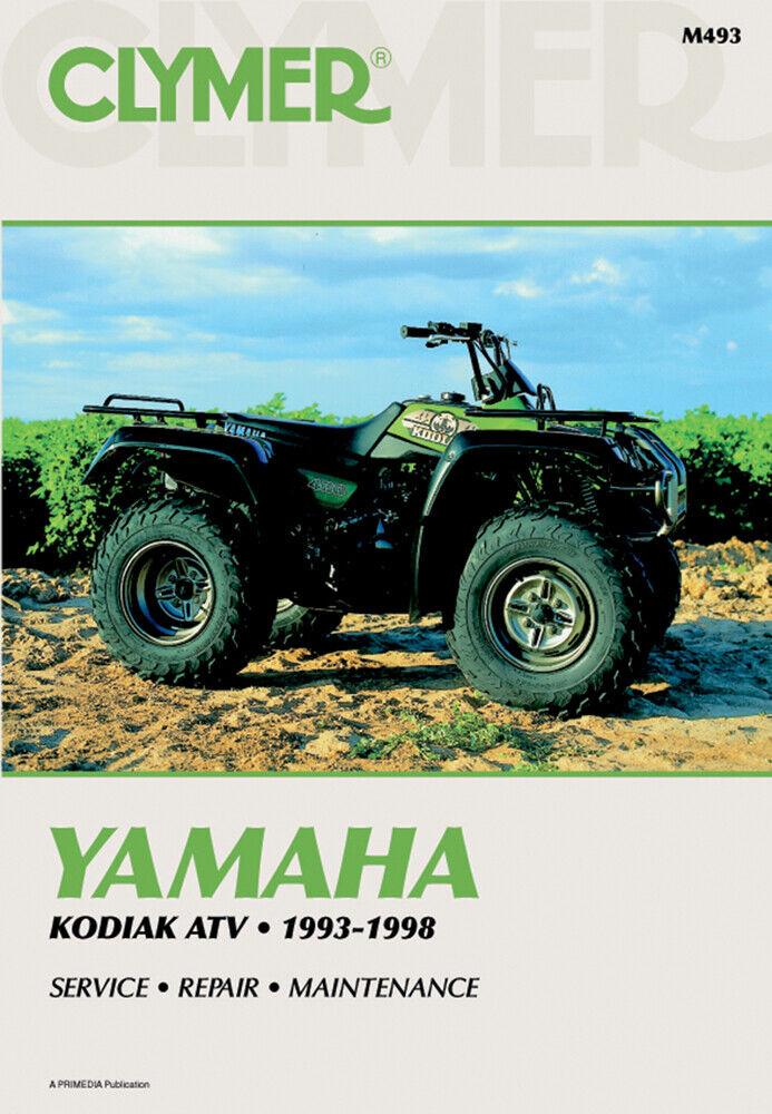 Clymer Shop Repair Manual 1993-1998 Yamaha Kodiak 400