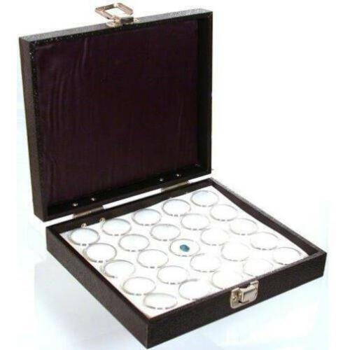 "25 Gem Jar Jewelry Tray Insert /& Display Case 7 3//4/"""