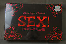 ENDLESS NIGHTS OF AMAZING SEX! ADULT BOARD GAME Kama Sutra Steamy Hot Fun Gift