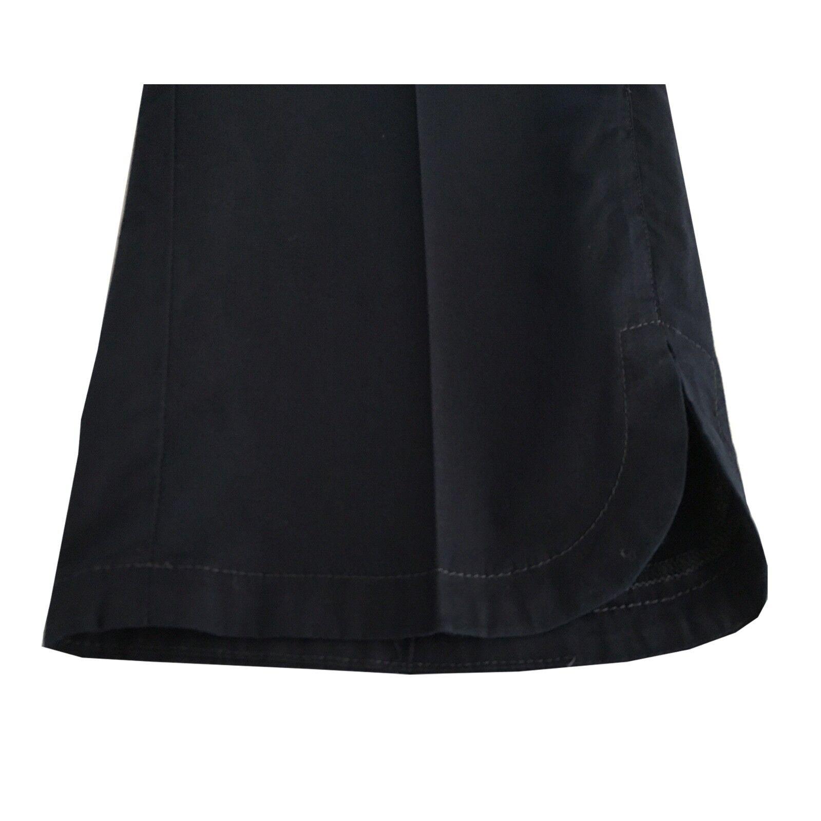 ELENA MIRÒ pantalone donna blu con spacco lunghezza lunghezza lunghezza cm 90 97% cotone 3% elastan cbff5b