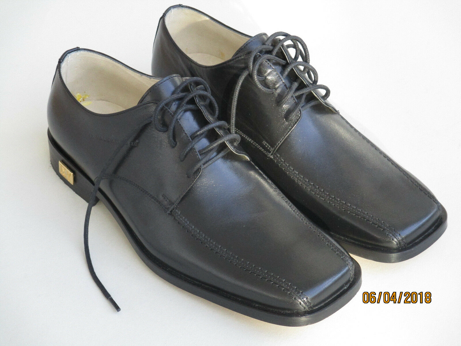 Valentino Herren Schuhe Gr. 42 Leder Herren Valentino MADE IN ITALY 2abf3f