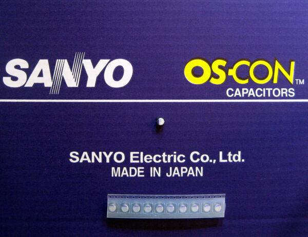 10pcs Oscon Sanyo Smd Os-con 47µf/6,3v Aromatisch Karakter En Aangename Smaak