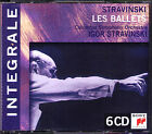 STRAVINSKY conducts The Firebird Petrouchka Agon Rite of Spring Les Noces 6CD