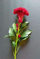 27 Cockscomb Stem. Silk Flower Floral Arrangements