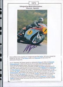 565268-Motorrad-Beleg-Autogramm-Giacomo-Agostini