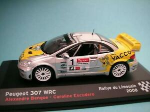 Peugeot-307-WRC-1-Bengue-2008-Rally-du-Limousin-Yacco-IXO-Altaya-Diecast-1-43