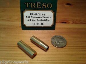 TRESO-32-caliber-Ramrod-seater-amp-Ramrod-End-brass-11-11-15-MADE-IN-USA