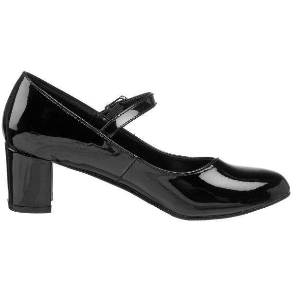 Pleaser niedriger Mary Absatz Schulmädchen 50 Style Mary niedriger Jane Schuhe Größen 3-9 2235ba