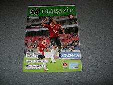 Programm 2012/13: Hannover 96  - FC Schalke 04
